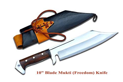 Handmade blade Mukti meaning redemption