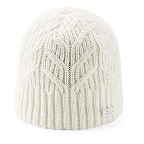 Under Armour Women's Around Town Beanie, (131)/Ivory, One Size Fits All