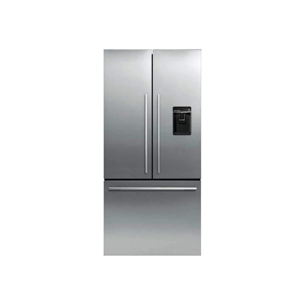 "#1 rated in reliable: Fisher Paykel 31"" ActiveSmart French Door Refrigerator, scored 96/100"