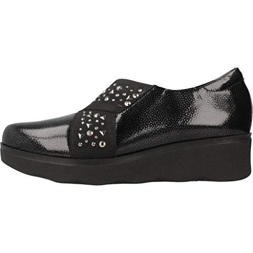 De 5342P Marca Zapatos Negro PITILLOS Negro Mujer para Color Cordones Zapatos Mujer PITILLOS para Negro Cordones Modelo de rYqZv