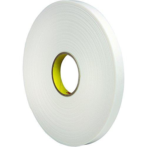 3M T95344661PK Double Sided Foam Tape, 1/2
