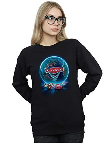 Camisa Movie Globe Poster Negro Entrenamiento Cars De Mujer Disney wAXqSgS