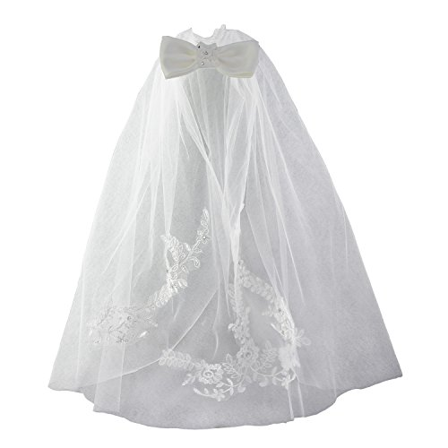 Ivory First Communion Veil - 4