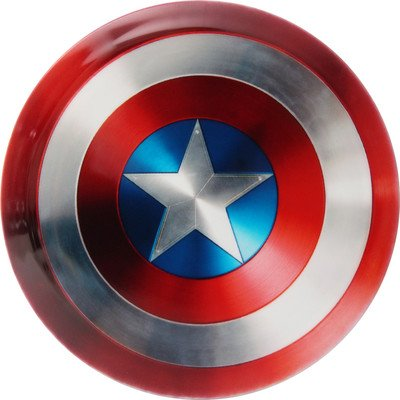 Captain America DyeMax Golf Disc by Dynamic Discs