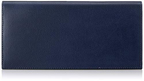 MAISON de HIROAN Leather Long Wallet Made in Japan 21535 Navy by MAISON de HIROAN