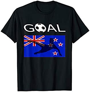 Best Gift New Zealander Soccer T New Zealand Flag World Need Funny TShirt / S - 5Xl