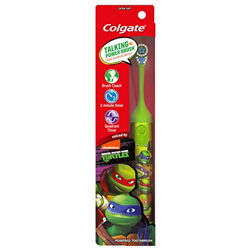 Colgate Kids Interactive Talking Toothbrush, Teenage Mutant Ninja Turtles by Nickelodeon