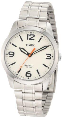 Watch Cream Dial Bracelet (Timex Men's T2N635 Weekender Classic Casual Cream Dial Bracelet Watch)