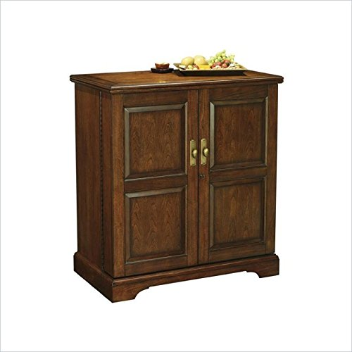 (BOWERY HILL Wine and Bar Cabinet in Americana Cherry Finish )