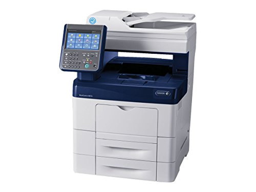 Xerox 3A6139 WorkCentre 6655iXM Fax / Copier / Printer / Scanner - Blue/White (Xerox Printer Drivers)
