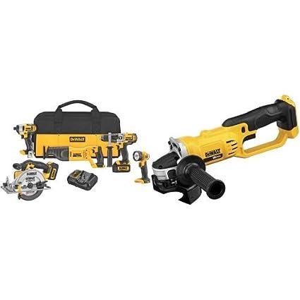 Dewalt 5-tool 20-volt max power tool combo kit