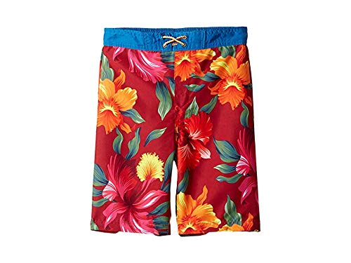 - Appaman Kids Baby Boy's Swim Trunks (Toddler/Little Kids/Big Kids) Tropical Hibiscus 3