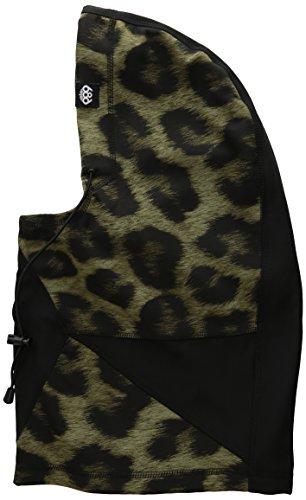 686 Wms Hunteress Face Mask, Leopard, One Size