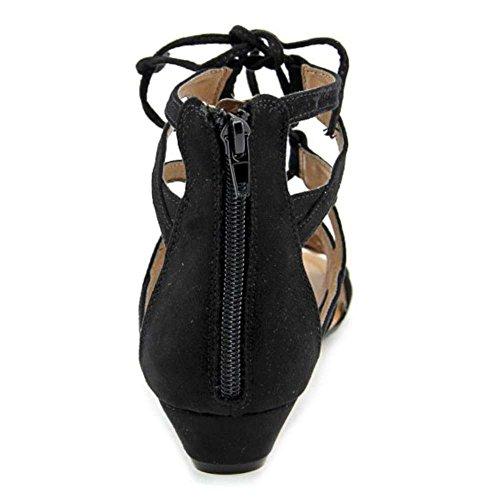 Crown Vintage Mules pour Femme Noir ecaEb6hFVQ