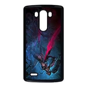 Akali 005 funda LG G3 caja funda del teléfono celular del teléfono celular negro cubierta de la caja funda EVAXLKNBC31127