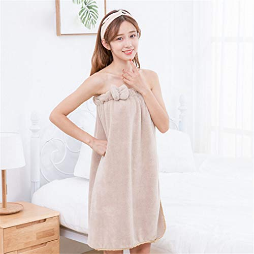 9ecbc97f0c Solid Magic Bath Towel Fashion Lady Girls Wearable Fast Drying Magic Bath  Towel Beach Spa Bathrobes Bath Skirt 70140