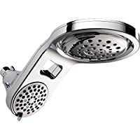 Delta Faucet HydroRain 5-Spray Touch-Clean 2-in-1 Rain Shower Head