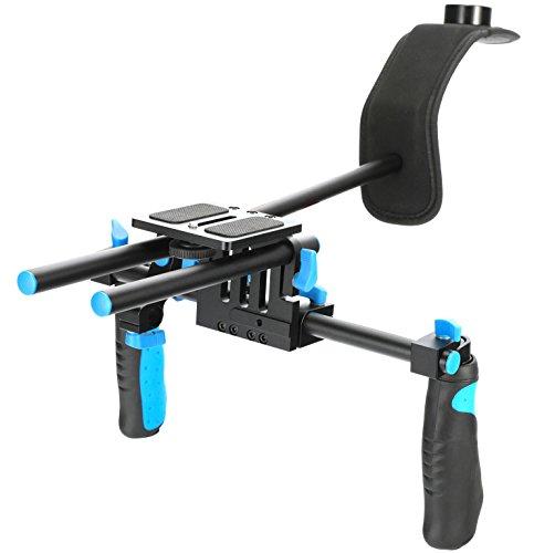 DSLR Rig RL02 Shoulder Chest Steady Support Mount Movie Kit