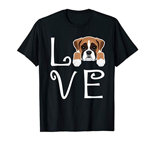 Boxer Love Dog Owner Boxer Puppy T-Shirt