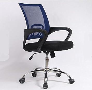 sz5cgjmy ufficio tessuto mesh sedia scrivania ergonomica regolabile 360° girevole ascensore dark blue