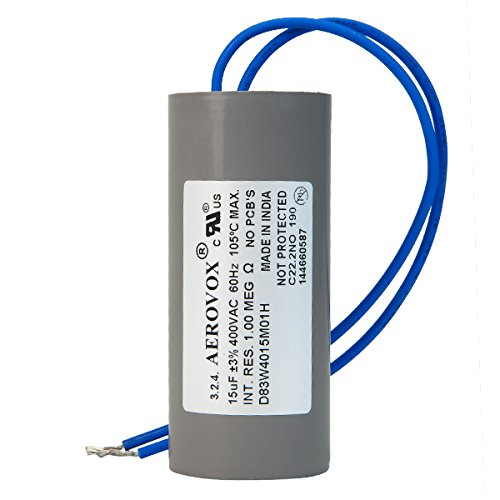 400VAC Dry HID Lighting Capacitor 15 Microfarads Aerovox D83W4015M01H