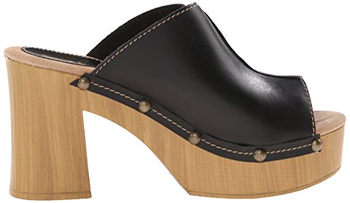 Sandalo Open Toe Nero Sbiancato Da Donna Manzanita