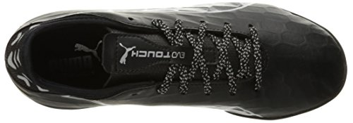 Puma Chaussures De Foot Evotouch 3 Tt Puma Black-puma Black-puma Argent