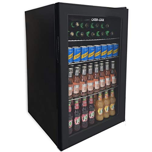 115ltr Single Door Black Eco Bottle Cooler (UK Mainland Only)