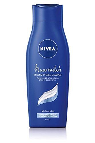 Nivea Haarmilch Rundum-Pflege-Shampoo, 6er Pack (6 x 400 ml)