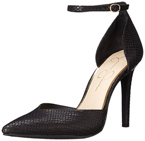 Jessica Simpson Mujeres Cirrus Dress Pump Black Snake