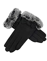 Bonvince Touch Screen Gloves for Women Winter Warm Texting Gloves