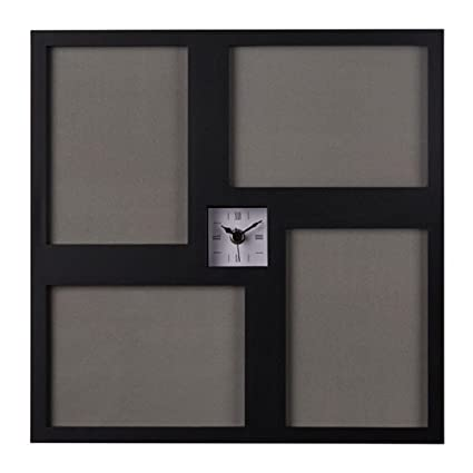 Ikea kravatt Reloj de pared en negro; (36 x 36 cm)