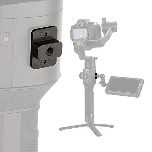 FOTOWELT 1/4 Mini Metal Aluminum-Alloy Monitor Holder Mount Compatible with DJI Ronin-S Handheld Gimbal