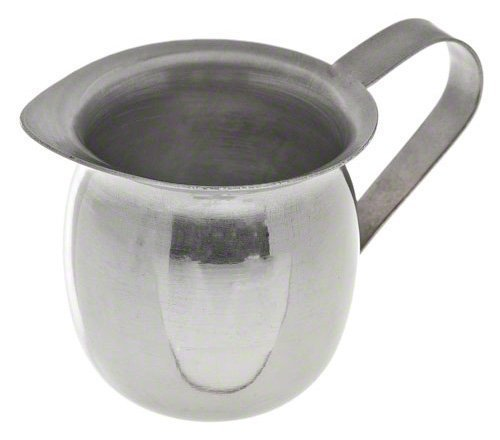 Update International BC-5 Stainless Steel Bell Creamer, 5-Ounce, 2-3/8-Inch, Set of 6