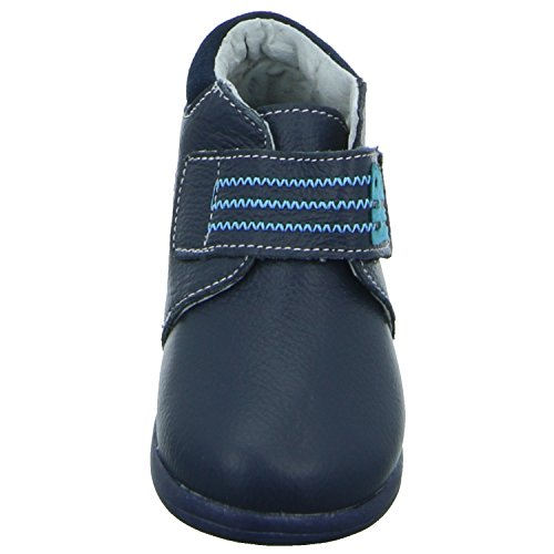 Happy Bee B167794/NAV 19-24 Unisex Kinder Babyschuhe Kaltfutter Blau (Blau)
