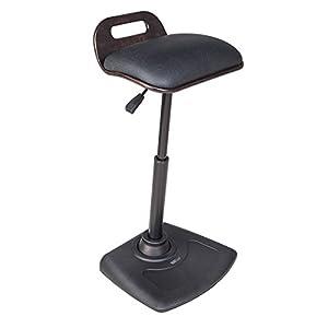 VARIDESK - Adjustable Standing Desk Chair - VARIChair Pro - Black