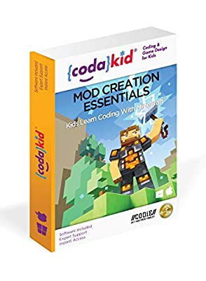 Coding for Kids with Minecraft - Ages 8+ Learn Real Computer Programming and Code Amazing Minecraft Mods with Java - Award-Winning Online Courses (PC & Mac)