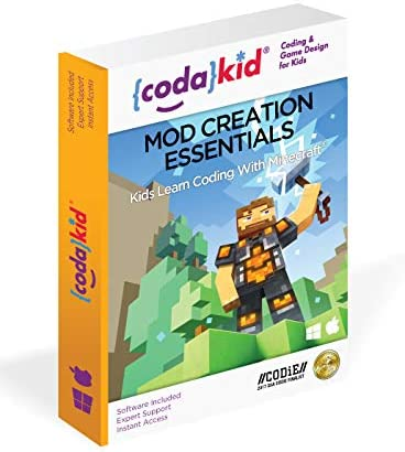 Coding for Kids with Minecraft - Ages 8+ Learn Real Computer Programming and Code Amazing Minecraft Mods with Java - Award-Winning Online Courses (PC & Mac) 41R-dnaG-oL