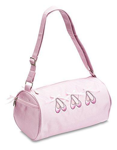 Katz Dancewear KB21 Bolsa para zapatillas de ballet, correa al hombro, color rosa satinado