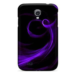 Sanp On Case Cover Protector For Galaxy S4 (neon Purple Jpg)