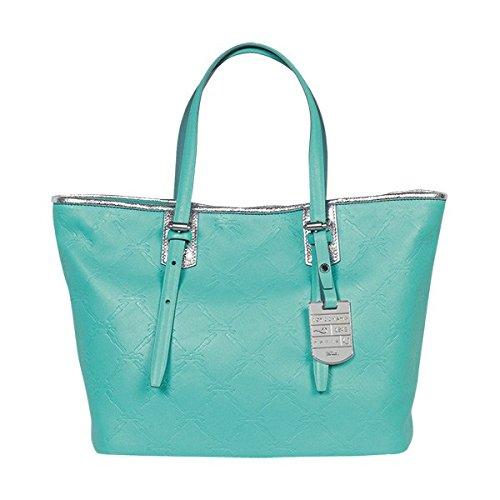 Amazon.com  Longchamp Lm Cuir Large Tote Lagoon Blue Bag Leather Handbag  Purse Logo NEW  Shoes 18c92b82ee