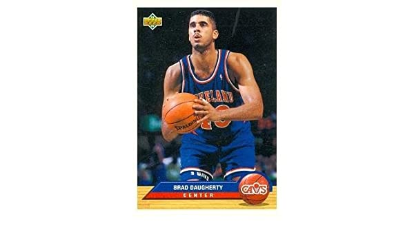 a78a81550373f Amazon.com: Brad Daugherty Basketball Card (Cleveland Cavaliers ...