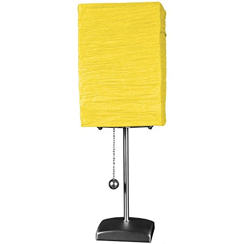 Yellow Accent Lamp - 5