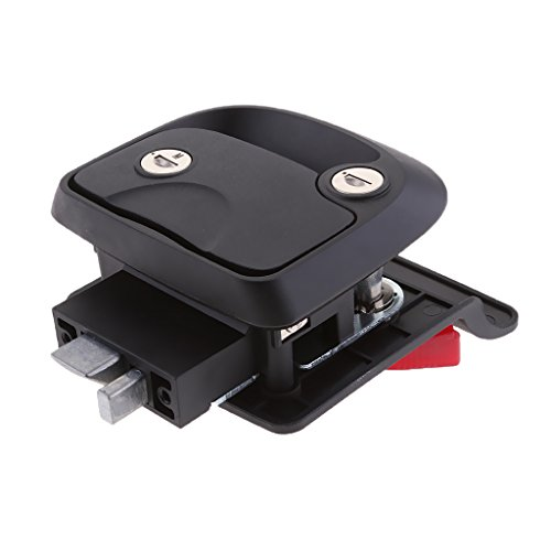 Dovewill Black Flush Mount Lock Latch Handle for RV, Yachts Boats, Trailer Furniture RV Lock Entry Door Luggage Cabinet by Dovewill (Image #9)