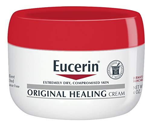 (Eucerin Original Healing Rich Feel Creme 4 oz (Pack of 3))