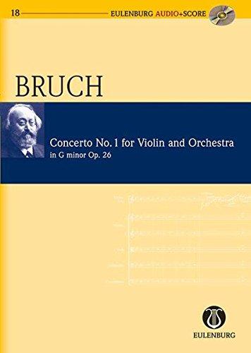 Read Online Violin Concerto No. 1 in G Minor, Op. 26: Eulenburg Audio+Score Series pdf