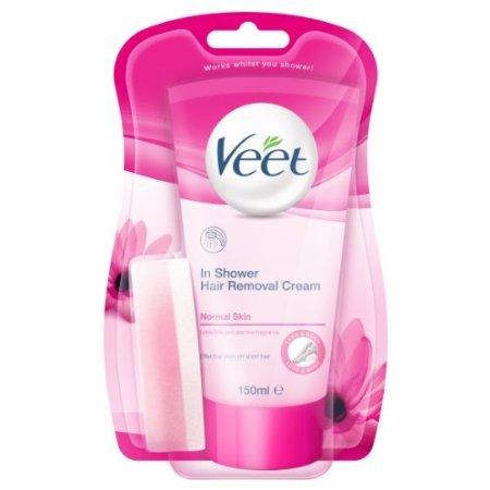 Veet Normal Skin In-Shower Hair Removal Cream Lotus Milk & Jasmine Fragrance 150ml