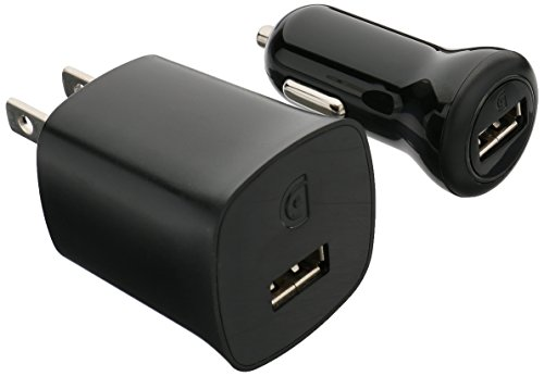 Powerduo Chargers - Griffin PowerDuo Chargers with Micro-USB Cable, 10W - PowerBlock and PowerJolt wall and car chargers, plus USB cable