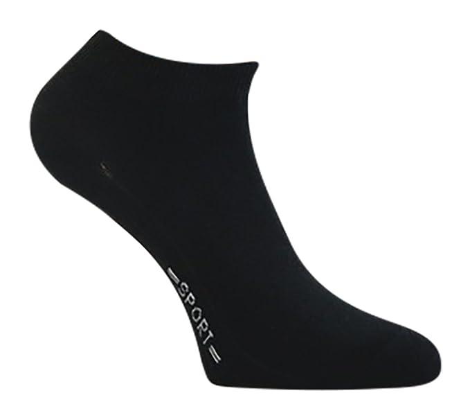 8 pares de calcetines deportivos negro/calcetines tobilleros/otros negro 39