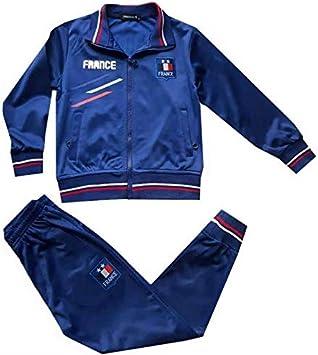 Générique Chándal de fútbol de Francia con 2 Estrellas para niño ...